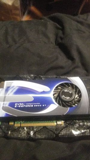 Evga e- GeForce 8800 gt graphic card for Sale in Concord, CA