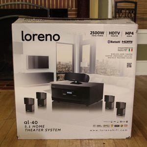 Lorenzo 2500watt Home Theater Dolby Surround System for Sale in Los Angeles, CA