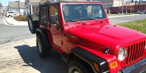 2001 Jeep Wrangler 4x4 for Sale in Silver Spring, MD
