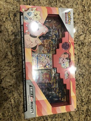 New sealed Pokemon small but mighty premium collection card set for Sale in Phoenix, AZ