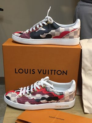 Louis Vuitton overcloud sneakers size 7 woman's for Sale in McKnight, PA