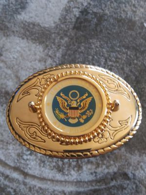 collectibles..Look!! United States air force gold tone Belt Buckle.made in USA for Sale in Lincoln Acres, CA