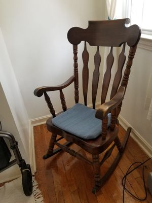 Solid wood rocking chair for Sale in Falls Church, VA