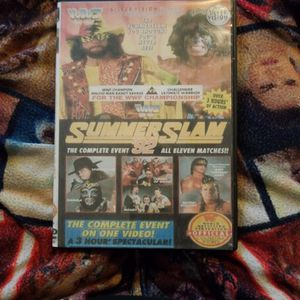 Wwf Summerslam 92/w Preshow Dvd for Sale in Chicago, IL
