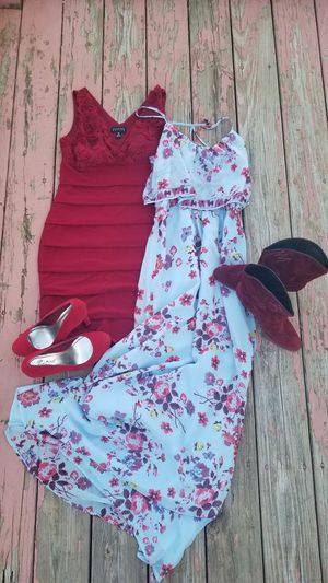 2 full exchangeable size 8 outfits for Sale in Peoria, IL