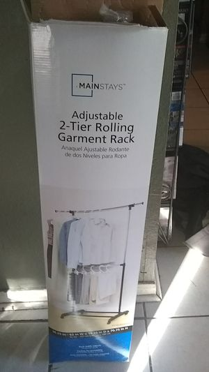 2 tier clothes rack for Sale in US