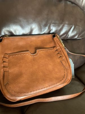 Women crossbody bag new brown for Sale in Gaithersburg, MD