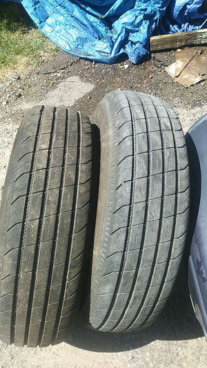 Trailer tires 235-80-16 for Sale in Ypsilanti, MI
