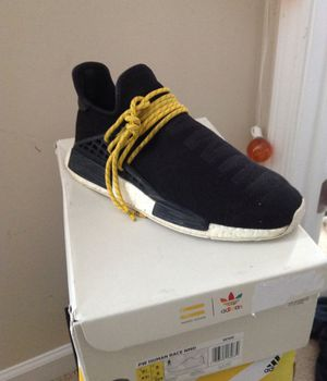 Human race nmd adidas Pharrell Williams sz 9.5 used (negotiable) for Sale in Apex, NC