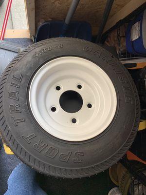 Carlisle trailer tire & rim. for Sale in Brooklyn, NY
