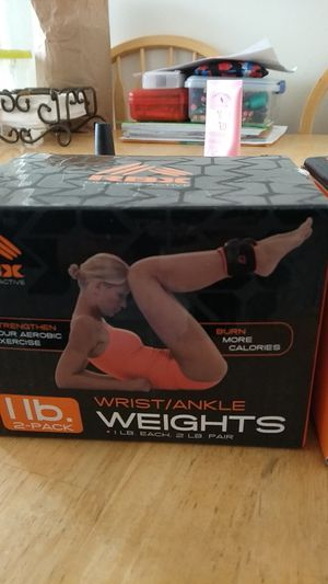 Wrist/ankle weights for Sale in San Jose, CA