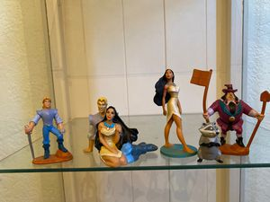 Disney Pocahontas figurines set for Sale in Fontana, CA