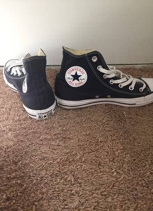 Navy Blue Converse size 8 women (NEW) for Sale in Brandon, FL