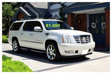 🙈💚Runs and Drive Perfect 2OO8 Cadillac Escalade $1000 for Sale in Bridgeport,  CT