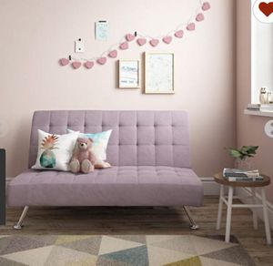 DHP MILO KIDS SOFA FUTON, LILAC for Sale in Goodyear, AZ