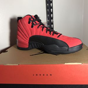 Air Jordan 12 Reverse Flu Game Retro Varsity Red Black CT8013-602 Size 9 Available - Men's for Sale in Chicago, IL