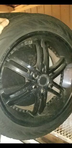 All black 22inch rims for Sale in Fall River, MA