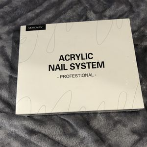 Morovan Acrylic Nail Kit Acrylic Powder and Professional Liquid Monomer set with Acrylic Nail Brush Nail Forms tips for Acrylic Nails Extension Beginn for Sale in Lakewood, CA