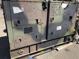 Diesel military generator new engine listing for neighbor If you'd like more info dm me for his number serious interest only please for Sale in Federal Way, WA