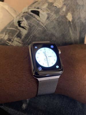 Apple Watch stainless steel 42mm SERIES 1 for Sale in Washington, DC