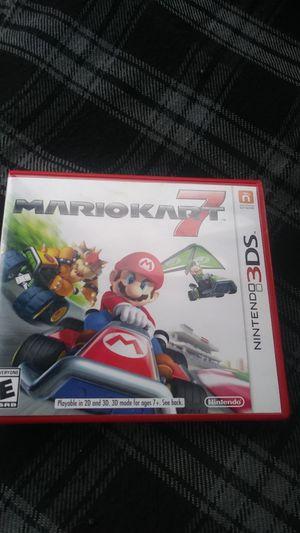 Mario kart 7 (3DS) for Sale in Wenatchee, WA