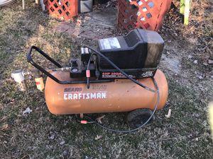 4 HP, 25 Gallon, 200 PSI, Sears Craftsman Air Compressor $135 for Sale in Wheaton, MD