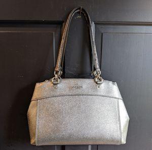 Coach metallic mid size purse for Sale in Renton, WA