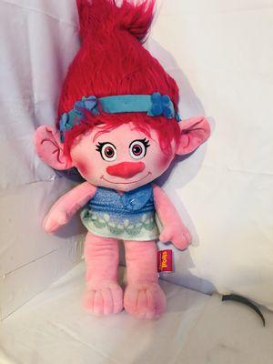 "Huge Poppy Dreamworks Trolls Plush Stuffed Toy Animal Doll 24"" Pink Hair Big for Sale in Kansas City, MO"