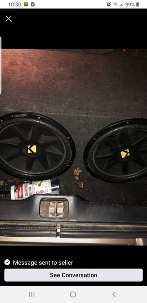 15 inch speakers and an amp for Sale in Washington, LA