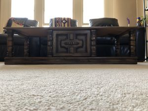 TV Stand in Dark Walnut for Sale in Kansas City, MO