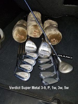 Verdict Super Metal golf set for Sale in San Antonio, TX