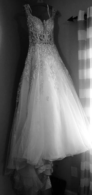 Wedding seethrough dress for Sale in Roswell, GA