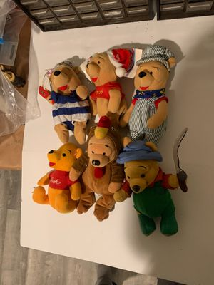 Rare vintage winnie the pooh lot of 6 for Sale in North Providence, RI