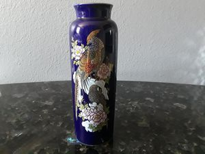 Vintage Large Cobalt Vase Made in Japan for Sale in Scottsdale, AZ