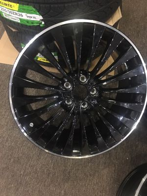 """BMW WHEELS IN 20"""" STAGGERED FITMENT BLACK AND MACHINE $1650 OR BEST PRICE RETAIL IS $4700 >CHECK US ON IG @atlcustomauto ATL CUSTOM AUTO3187 Roswe for Sale in Atlanta, GA"""