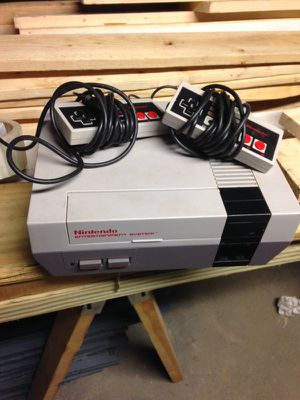 Nintendo classic with 2 controllers for Sale in Cleveland, OH