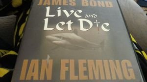 James Bond Live and Let Die by Ian Fleming audiobook for Sale in Abilene, TX