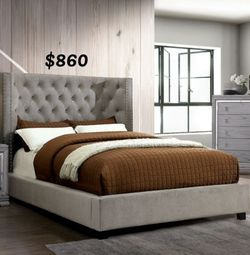 EASTERN KING BED FRAME AND MATTRESS INCLUDED for Sale in Los Angeles,  CA