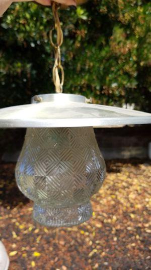 Vintage light fixture for Sale in Arroyo Grande, CA