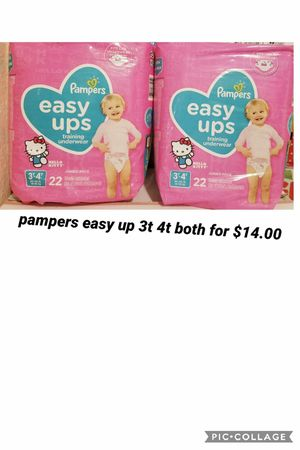 pampers easy up size 3t 4t for Sale in Los Angeles, CA