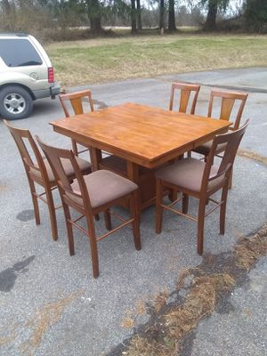 Kitchen table with 6 chairs for Sale in Hellertown, PA