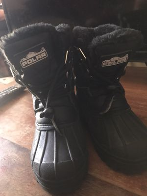 Polar snow boots for kids for Sale in Lynwood, CA