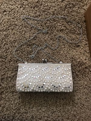Sparkle clutch with chain strap for Sale in Queen Creek, AZ