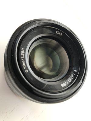 Sony 50mm 1.8 OSs lens for Sale in Fort Lauderdale, FL
