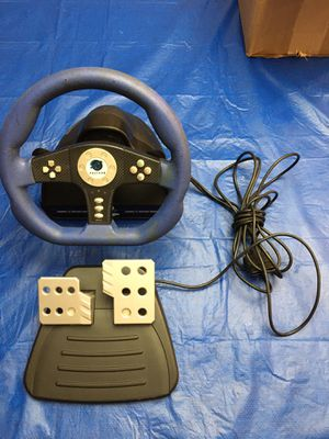 Pelican Playstation 2 PS2 Cobra TT Racing Steering Wheel Controller Pedal Was told it works great. Great condition There is No refunds or no returns for Sale in Pembroke Pines, FL