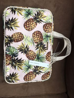 Pineapple 🍍 cosmetic bag or anything you want to put in for Sale in Tampa, FL