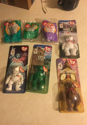 McDonald's unopened Beanie Babies for Sale in Spring Grove, IL