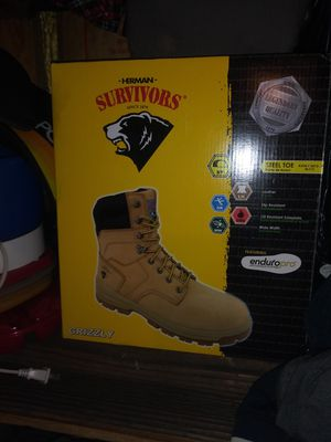 Work boots size 10 for Sale in Fort Worth, TX