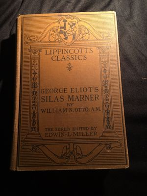 George Eliot's Silas Marner by William N. Otto. A.M. HARD BACK BOOK BUY AS IS for Sale in La Habra, CA