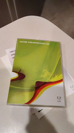 Adobe Dreamweaver CS3 for Sale in Wesley Chapel,  FL